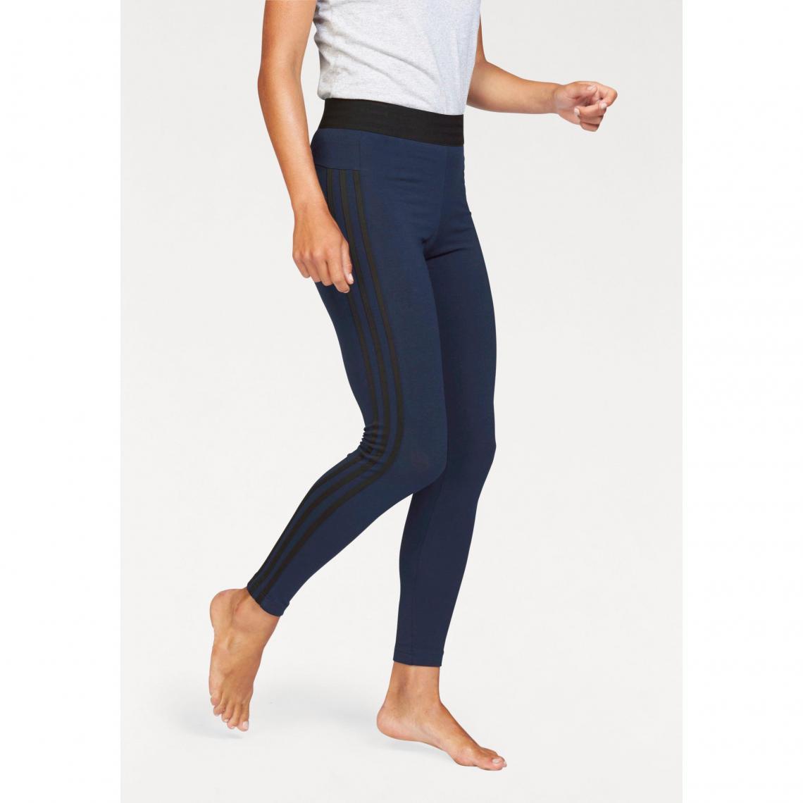 a6541926ac9f0 Legging adidas Performance Essential 3S tight femme - Marine - Noir Adidas  Performance Femme