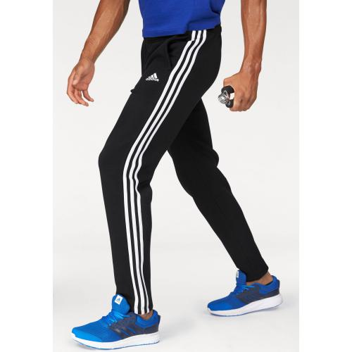 Adidas Performance - Jogging adidas Performance Essential 3S Tapered Fleece Pant homme - Noir - Vêtements de sport homme