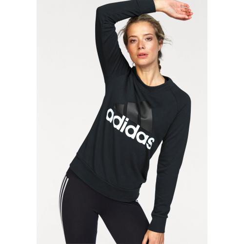 Adidas Performance - Sweat imprimé manches longues femme Essentials Linear Climalite® adidas Performance - Noir - Le sport