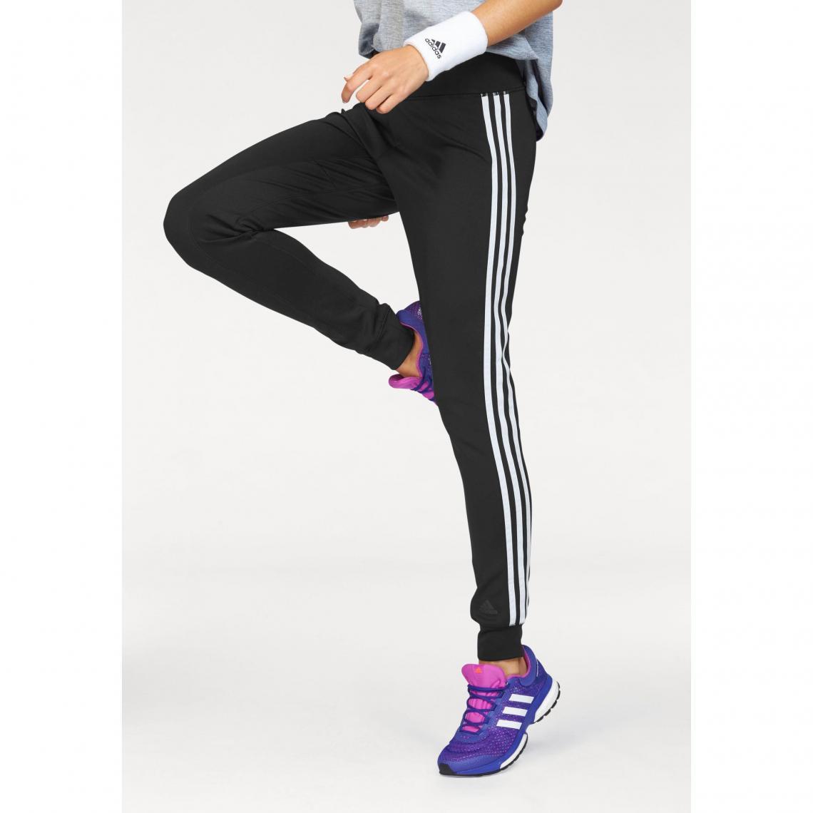 Pantalon de survêtement femme Climalite® D2M 3-Stripes adidas Performance - Noir  Adidas Performance ad728257d01f