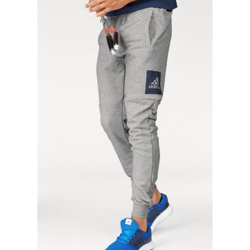 Adidas Performance - Pantalon de sport Essentials Box Logo Slim adidas Performance homme - Multicolore - Pantalon