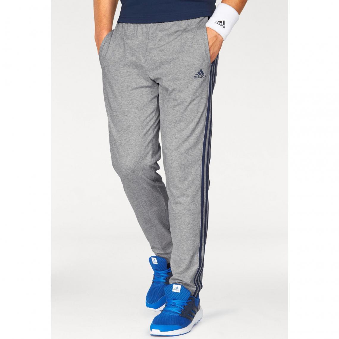 11472c56b62c3 Pantalon de survêtement molleton homme adidas Originals - gris chiné Adidas  Performance Homme