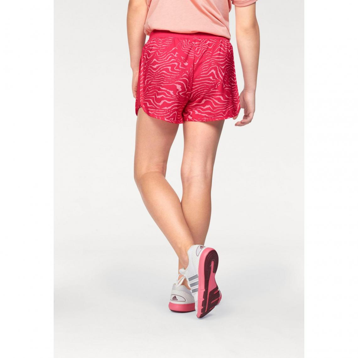 Short court adidas Performance Climalite® fille - Rose  6c2ed599cef