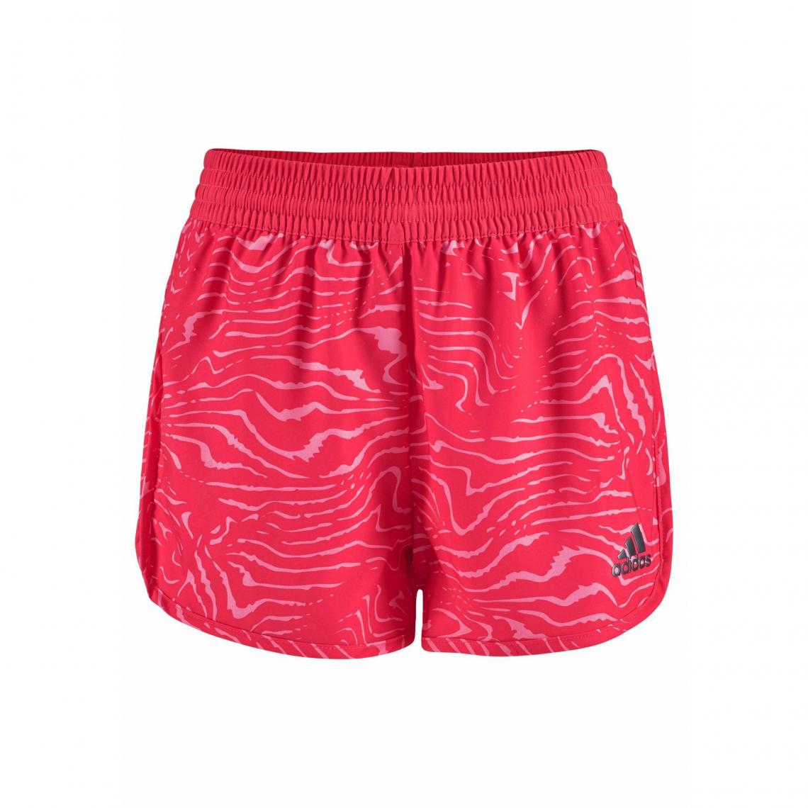 Short court adidas Performance Climalite® fille - Rose Adidas Performance 8b9c463fb2a