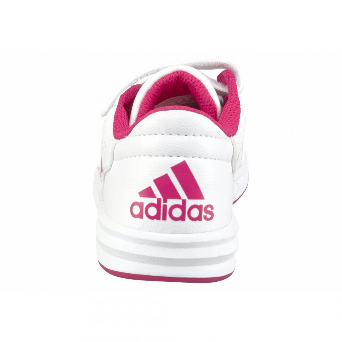 8a6e6e5cc8bdd Sneaker velcro fille AltaSport CF K adidas Performance - Blanc ...