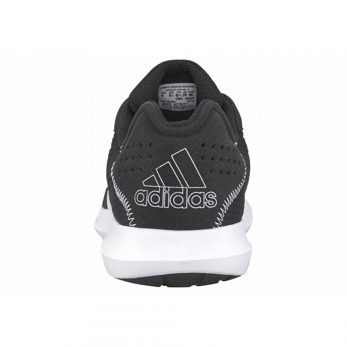 b2c4845fb6 Toutes les chaussures Adidas Performance Cliquez l'image pour l'agrandir. adidas  Performance Element Refresh chaussures de running homme - Noir - Blanc ...