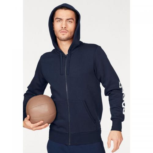 Adidas Performance - Veste de sport à capuche Essentials Linear Full zip Hood Fleece homme adidas Performance - Marine - Gilets zippés homme