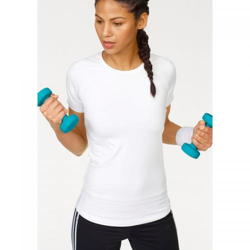 Adidas Performance - T-shirt manches courtes de sport Speed Tee adidas Performance pour femme - Blanc - Sport femme