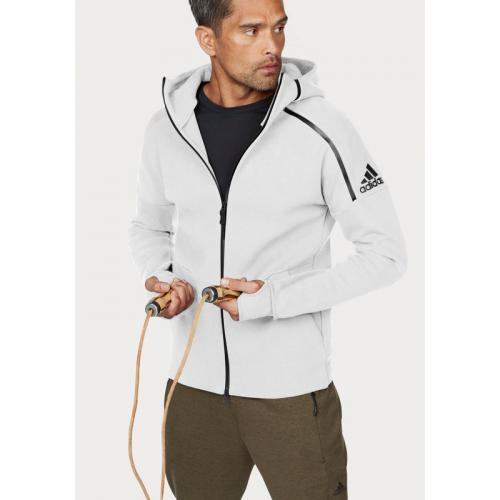 Adidas Performance - Sweat à capuche homme ZNE Hoody 2 adidas Performance - Blanc - Promos vêtements homme