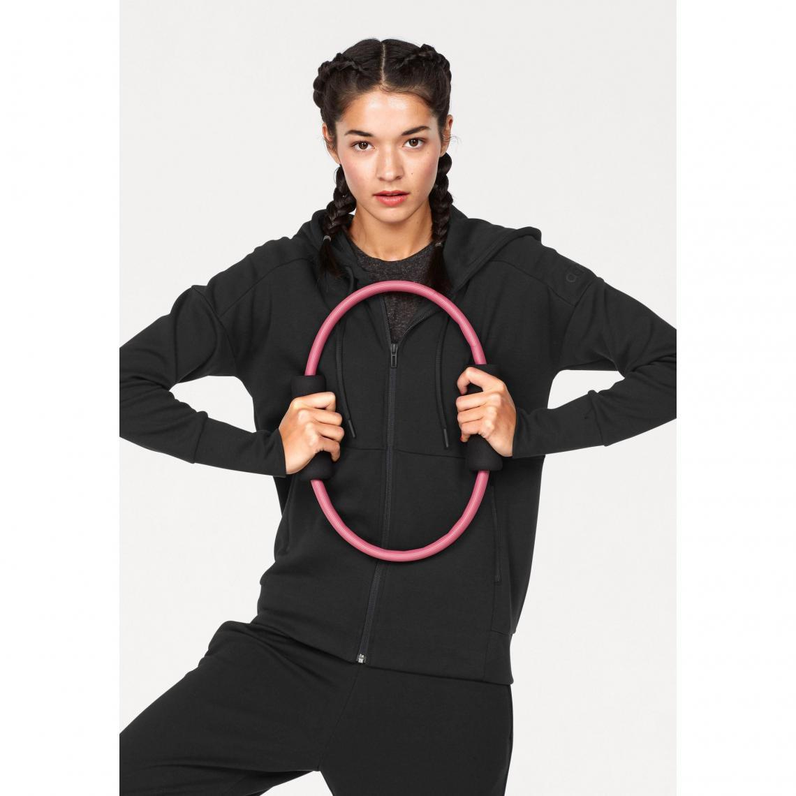 134929ed1d Sweat zippé manches longues à capuche femme ID Stadium adidas Performance - Noir  Adidas Performance Femme
