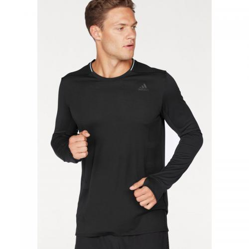 Adidas Performance - T-shirt col rond manches longues homme Climacool® Supernova adidas Performance - Noir - T-shirts sport homme