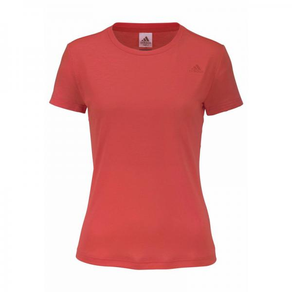 T-shirt col rond manches courtes femme Climalite® Freelift Prime adidas Performance - Bleu Adidas Performance