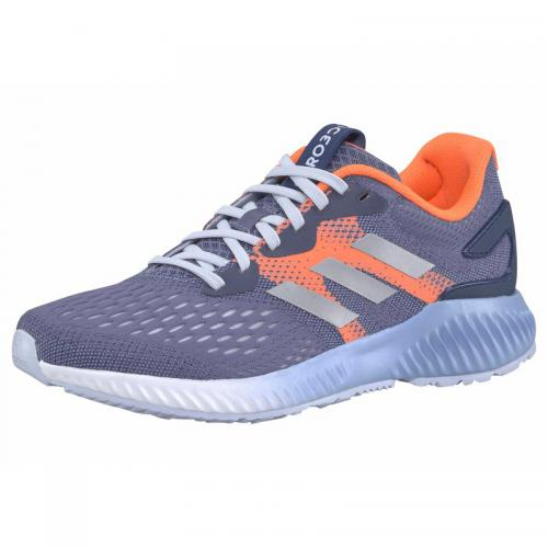 Adidas Performance - adidas Performance Aerobounce chaussures de running femme - Gris - Orange - Baskets