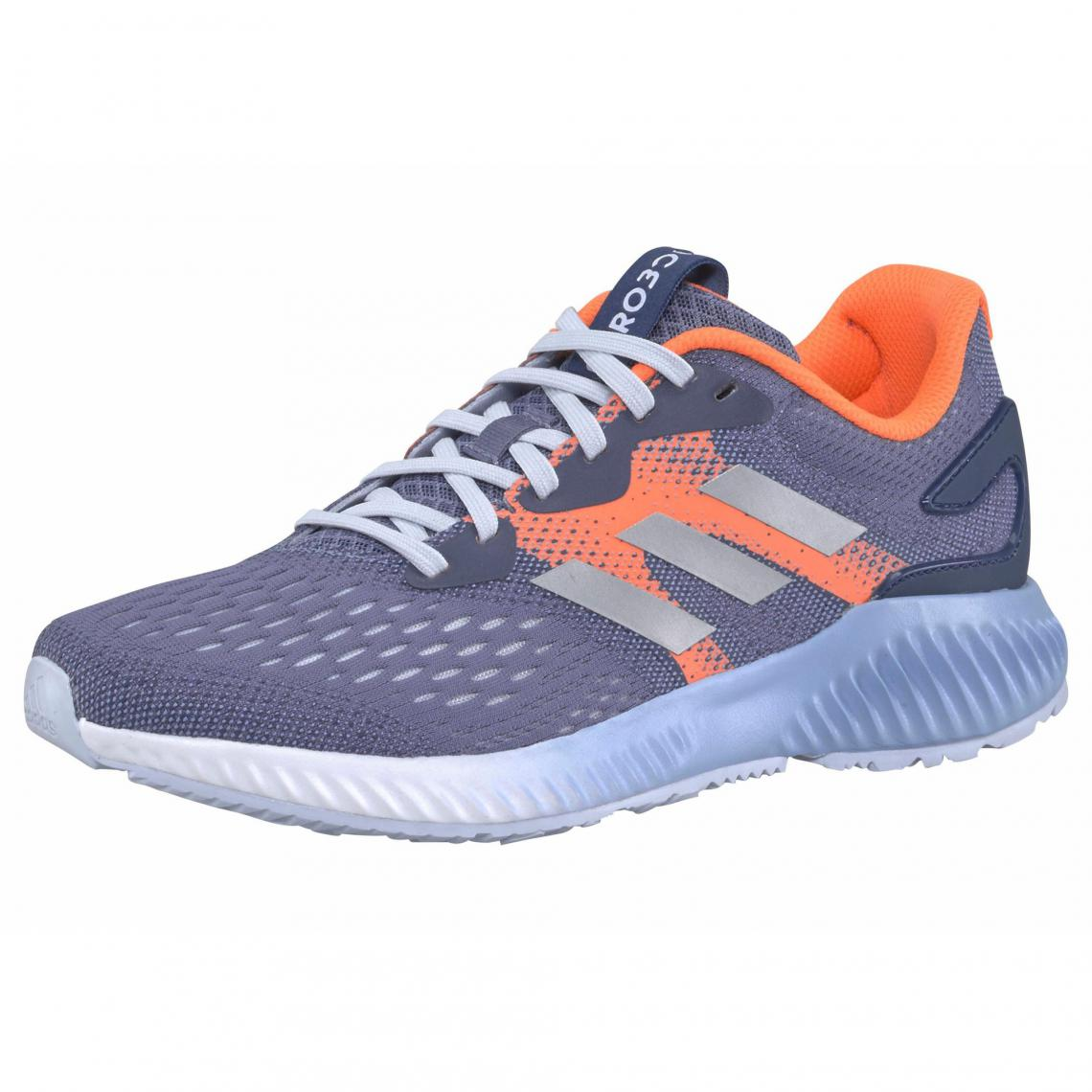 reputable site 3fcc0 eeb97 adidas Performance Aerobounce chaussures de running femme - Gris - Orange  Adidas Performance Femme