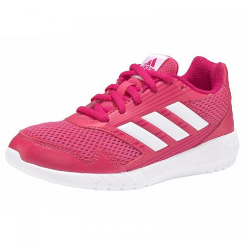 Adidas Performance - adidas Performance AltaRun sneakers basses fille - Rose Vif - Blanc - Promos chaussures, accessoires enfant