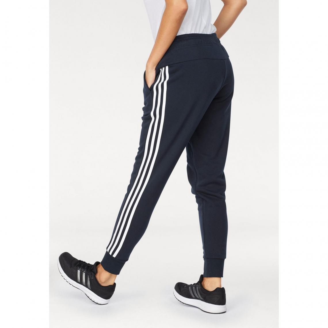 Pantalons de sport femme Adidas Performance Cliquez l image pour  l agrandir. Jogging ADIDAS Performance Essential 3S tapered pant ... 7b1965d3919