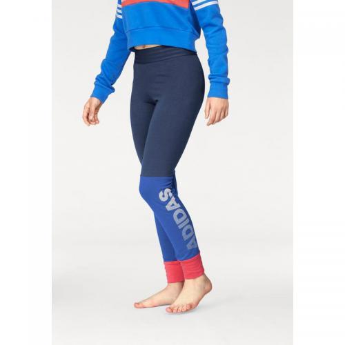 Adidas Performance - Legging ID Lin Tight adidas Performance fille junior - Bleu - Vêtements fille