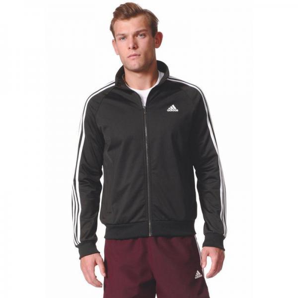 Noir 2977797 Essentials Réf Stripes Zippée Adidas 3 Manches Homme Veste Longues Performance Ad979313 q1g7awzz