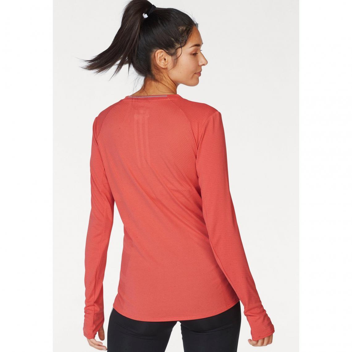 the best attitude b6903 d3185 T-shirts sport femme Adidas Performance Cliquez l image pour l agrandir.  Maillot de course manches longues Fran SN Longsleeve W ...