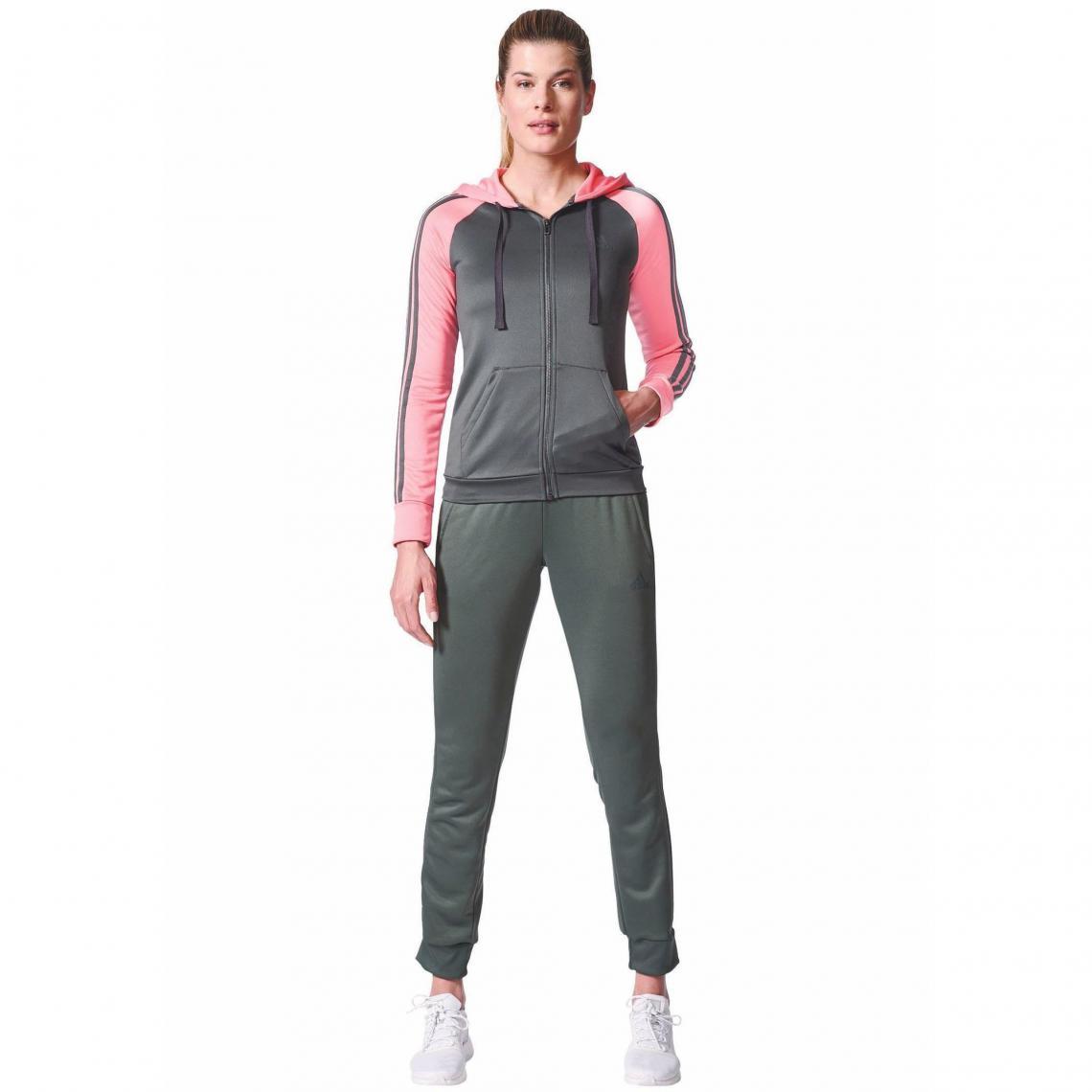 d9e625e0629b Survêtement Fly 9 adidas Performance pour femme - Gris Anthracite - Rosé  Adidas Performance Femme