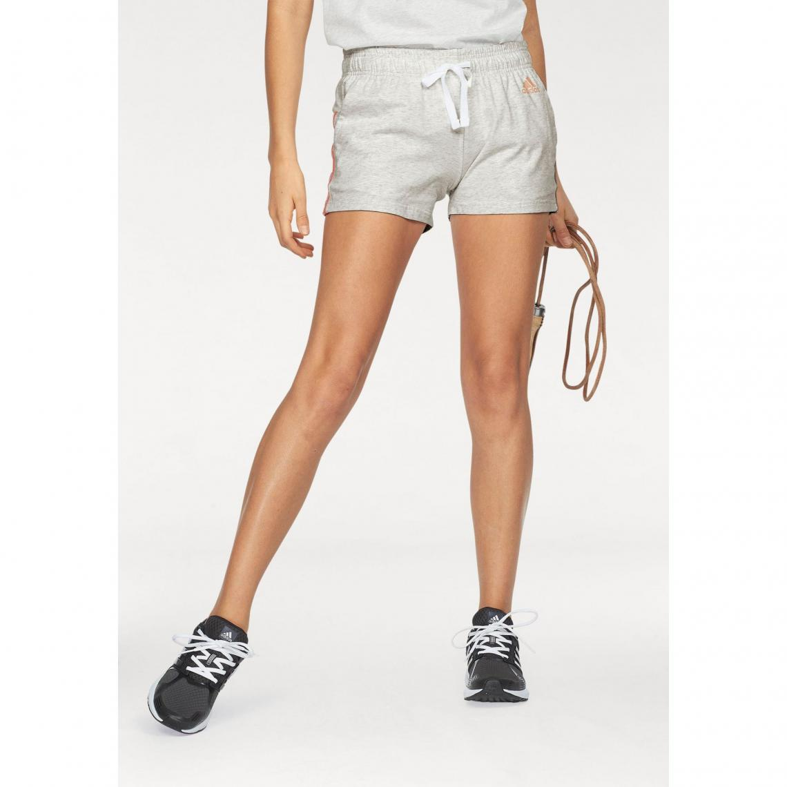 92a2d5db03 Short court femme Essentials 3 Stripes Short adidas Performance Adidas  Performance Femme