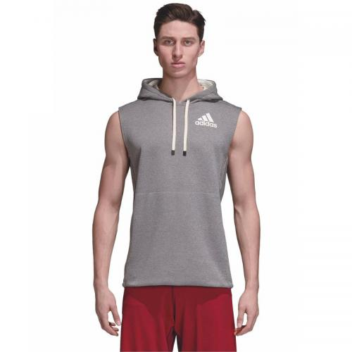 Adidas Performance - Sweat-shirt O WH sans manches à capuche homme adidas Performance - Blanc - Promos vêtements homme