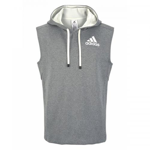 Sweat-shirt O WH sans manches à capuche homme adidas Performance - Blanc Adidas Performance
