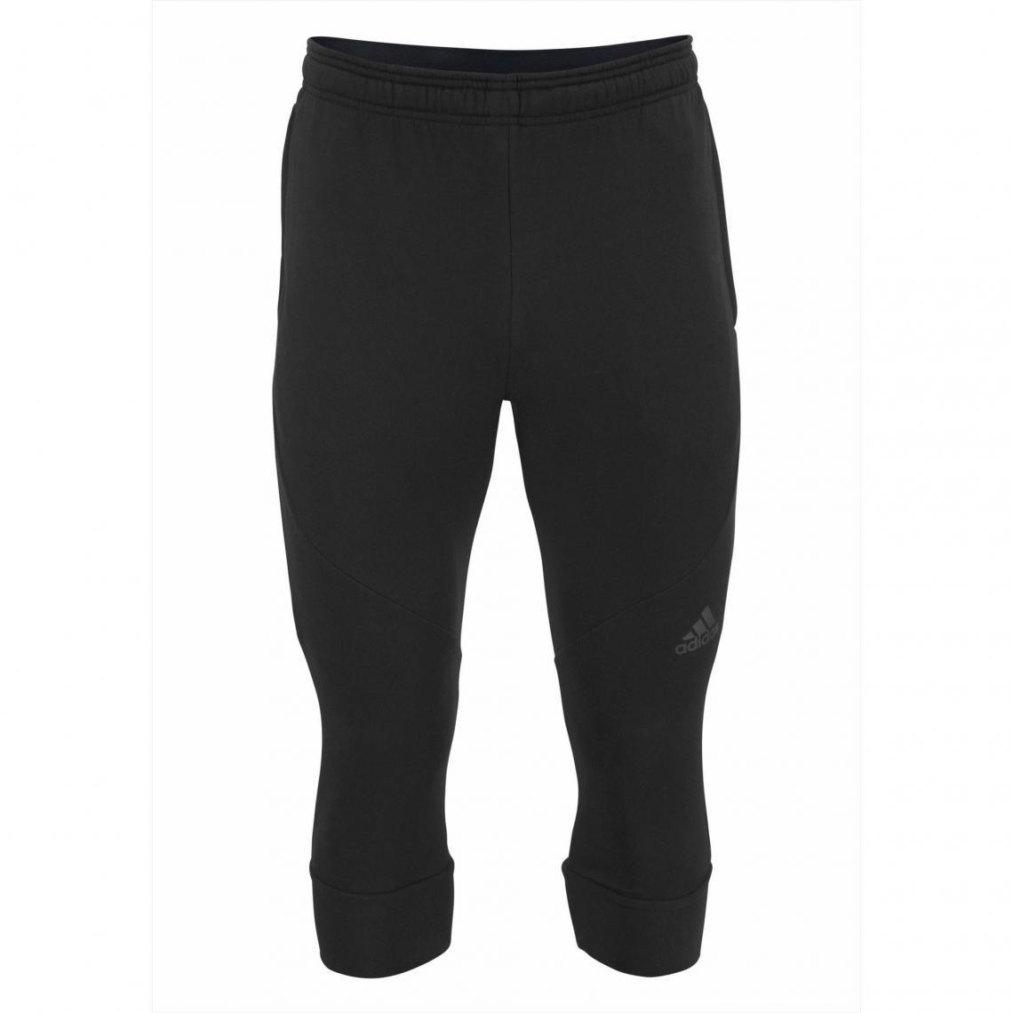 Pantalon de sport 34 homme Climacool® adidas Performance Noir