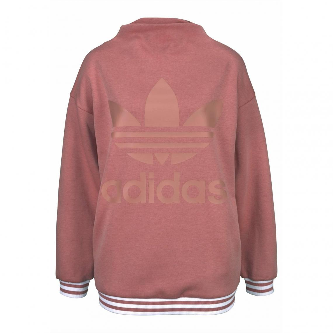 318c54b4ad9c Sweat femme adidas Originals® - Rose Adidas Performance