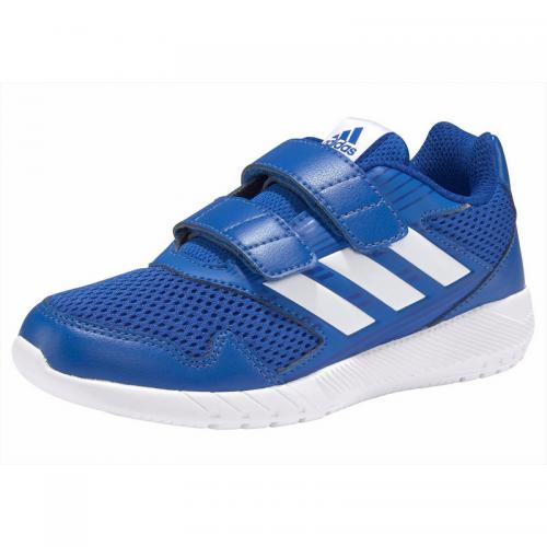 Adidas Performance - Chaussures de sport gar&ccedilon ADIDAS Performance AltaRun CF - Bleu - Blanc - Vêtements fille
