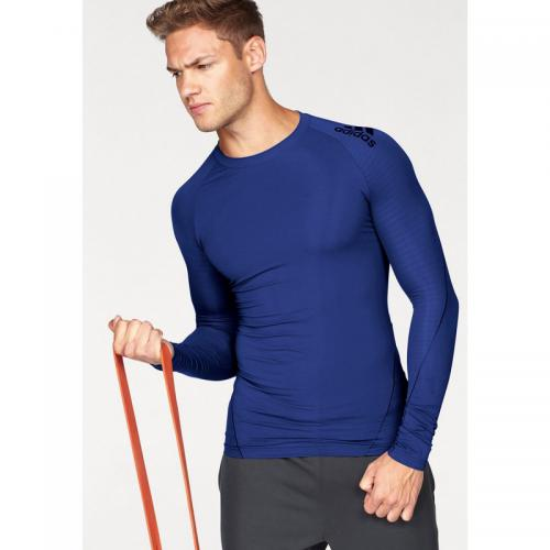Adidas Performance - T-shirt manches longues homme Climacool® AlphaSkin Sport adidas Performance - Bleu - Vêtement de sport