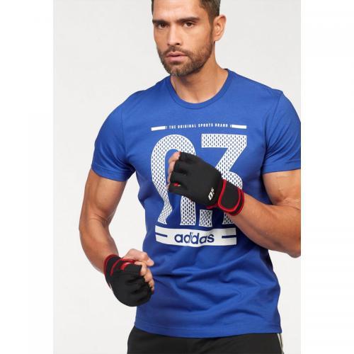save off bdc6b f9c36 Adidas Performance - T-shirt hommes adidas Performance - Bleu - Vêtement de  sport