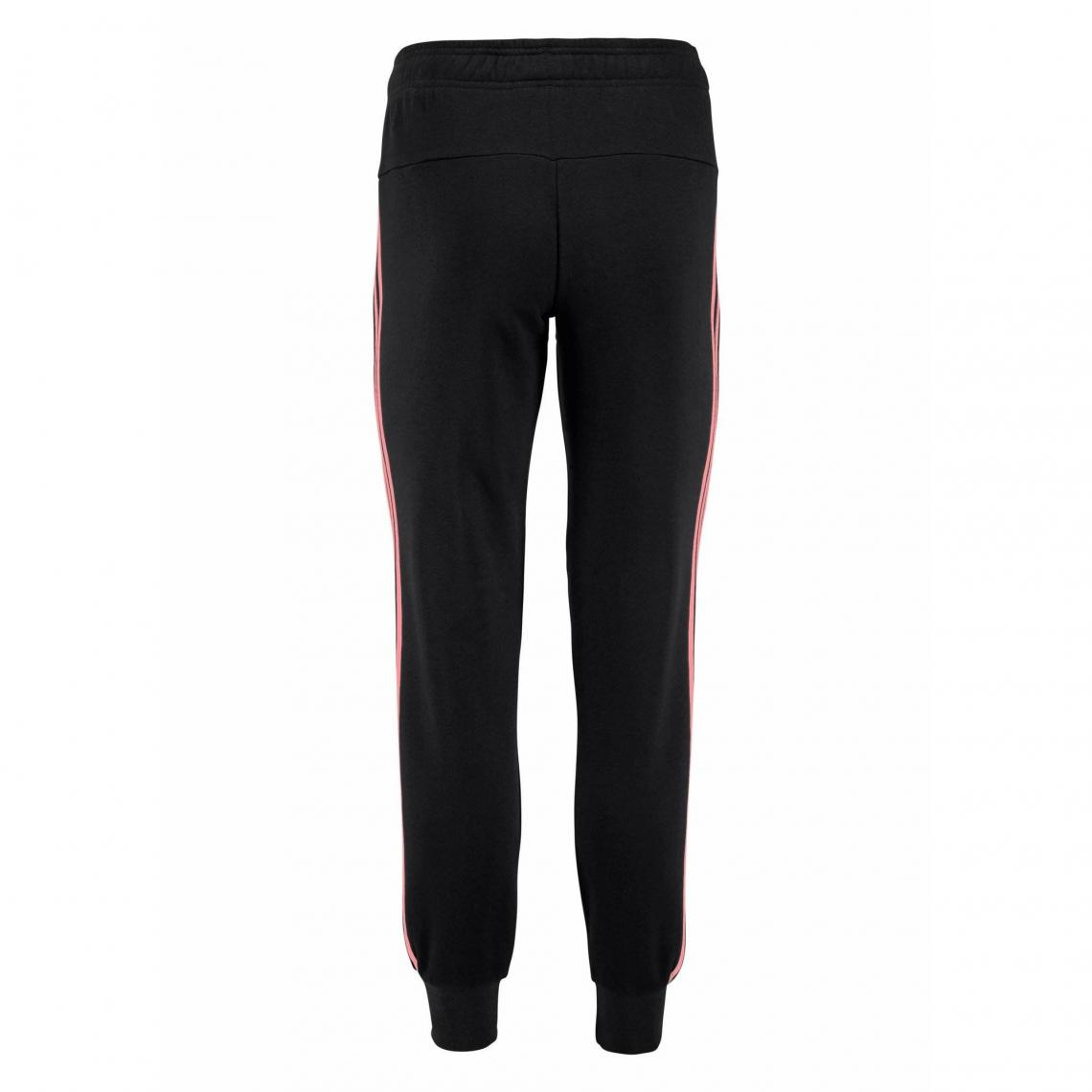 Jogging adidas Performance Essential 3S pant cuffed femme - Noir Adidas  Performance 8578ee7440a