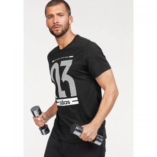 Adidas Performance - T-shirt hommes adidas Performance - Noir - Promos vêtements homme