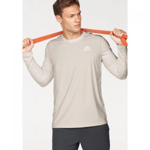 Adidas Performance - T-shirt homme Climacool® FreeLift Eli LongSleeve adidas Performance® - Blanc - Vêtement de sport