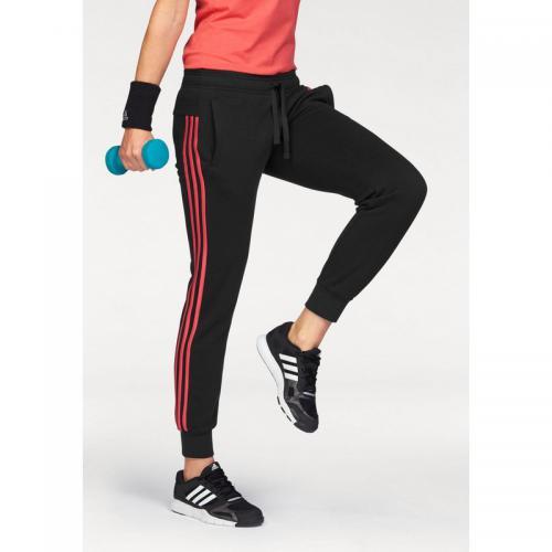 b55012c736d Adidas Performance - Jogging adidas Performance Essential 3S pant cuffed  femme - Noir - Pantalons de