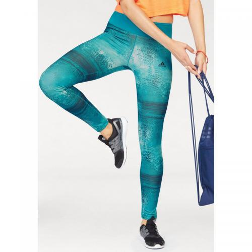 0de40f3f28c5f Adidas Performance - Legging imprimé femme Climalite® Ultimate Long Adidas  Performance - Bleu Pétrole -