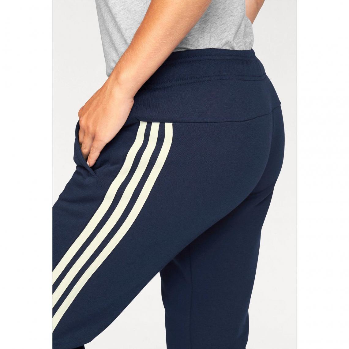 Jogging adidas Performance Essential 3S pant cuffed femme - Multicolore Adidas  Performance 3752147b79b