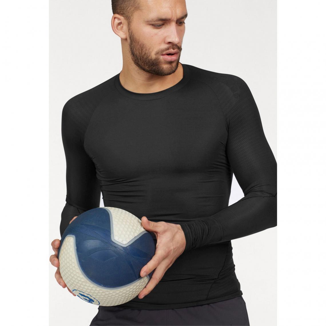 T shirt manches longues homme Climacool® AlphaSkin Sport adidas Performance Noir