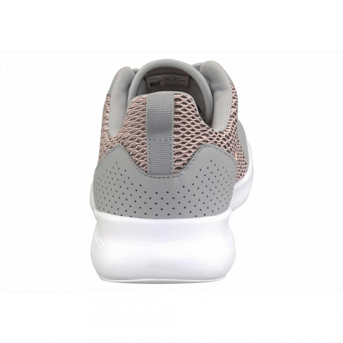super popular 035b9 1d4e2 Chaussures de running femme adidas Performance Cloudfoam Element Race -  Gris - Rose Adidas