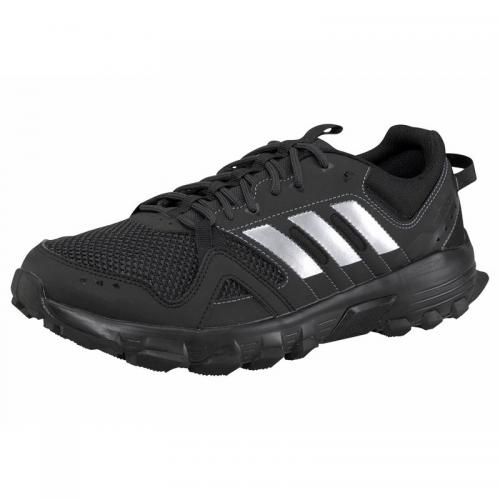 Adidas - adidas Rockadia Trail chaussures de running homme - Noir - Blanc - Promos chaussures, accessoires homme