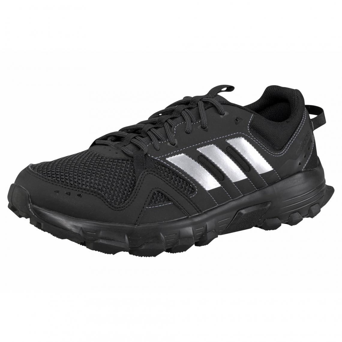 official photos 1e145 85d86 adidas Rockadia Trail chaussures de running homme - Noir - Blanc Adidas  Homme