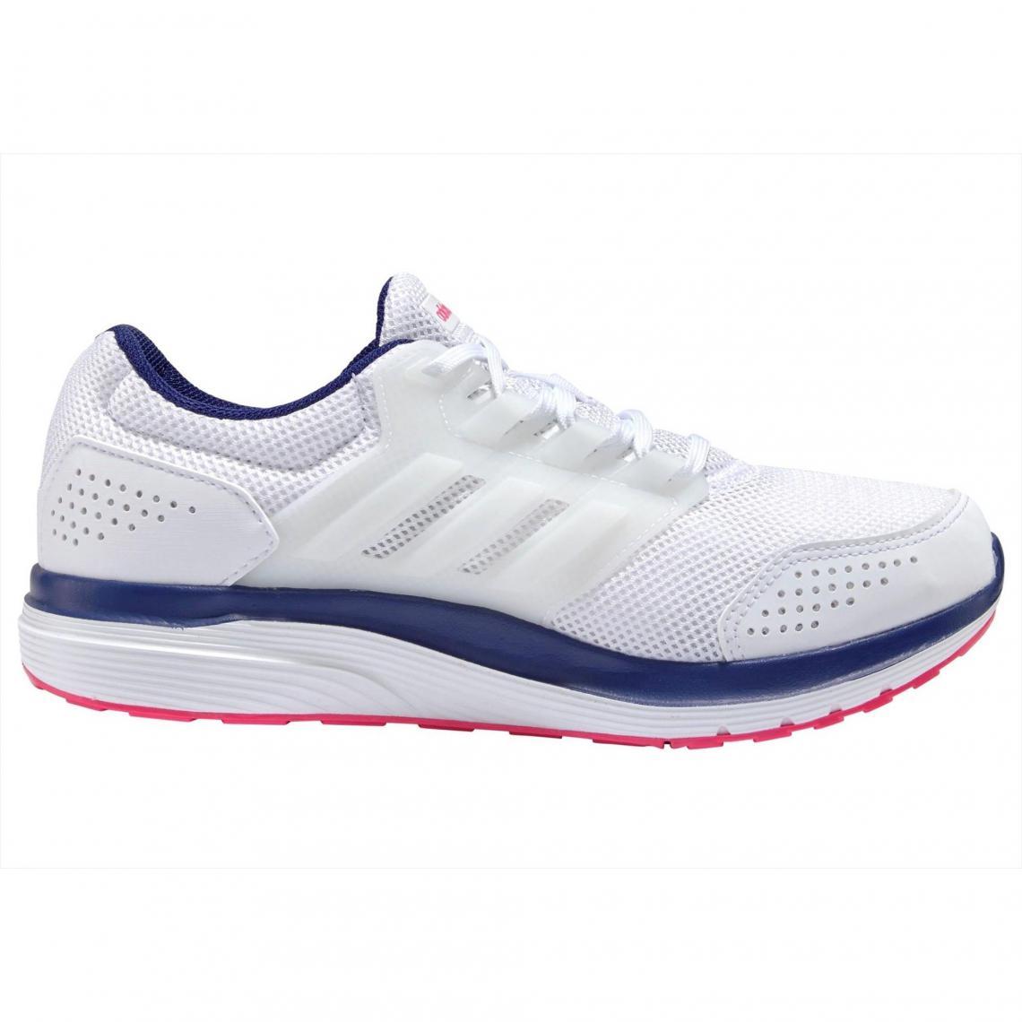 Baskettes homme Galaxy 4 W Q2 de Adidas Blanc Bleu | 3