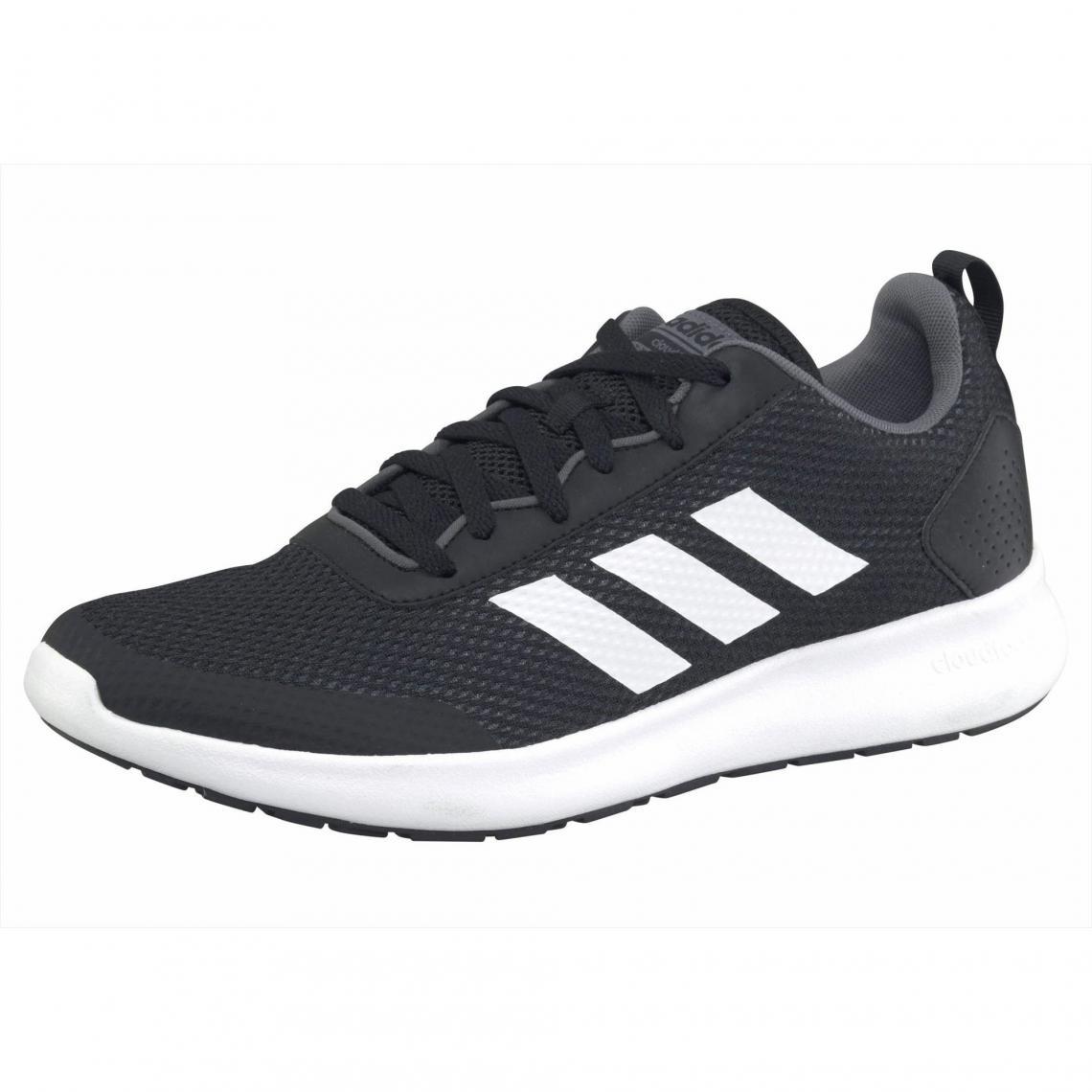 new concept 15406 e45b8 Baskettes homme Questar CC par Adidas - Noir - Blanc Adidas Homme