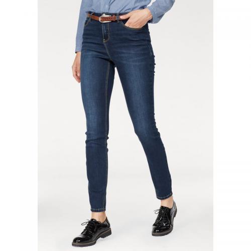 3cbaad1349d1 AJC - Jean skinny taille haute femme AJC - Bleu Used - Jeans taille haute  femme