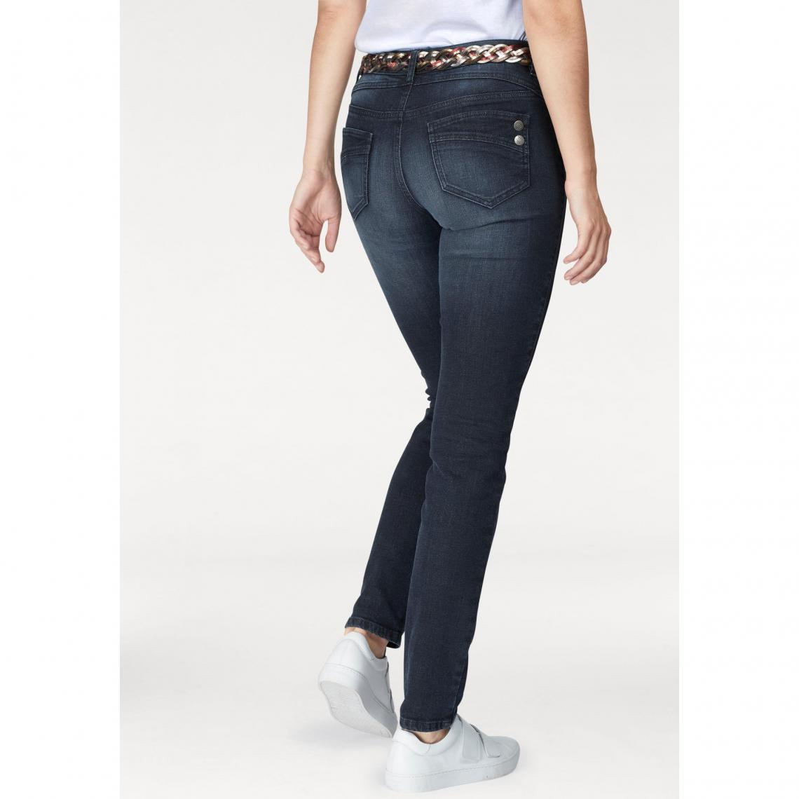 taille 40 c1e2f b30bb Jean slim taille haute femme AJC - Foncé Used 1 Avis