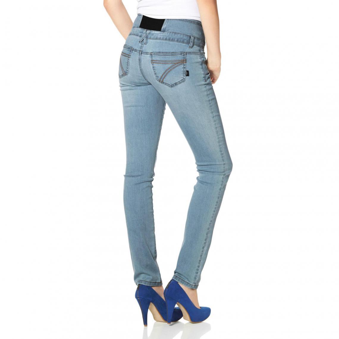 9817312c816b Jeans slim femme Arizona Cliquez l image pour l agrandir. Jean slim taille  haute Arizona - Bleu Arizona