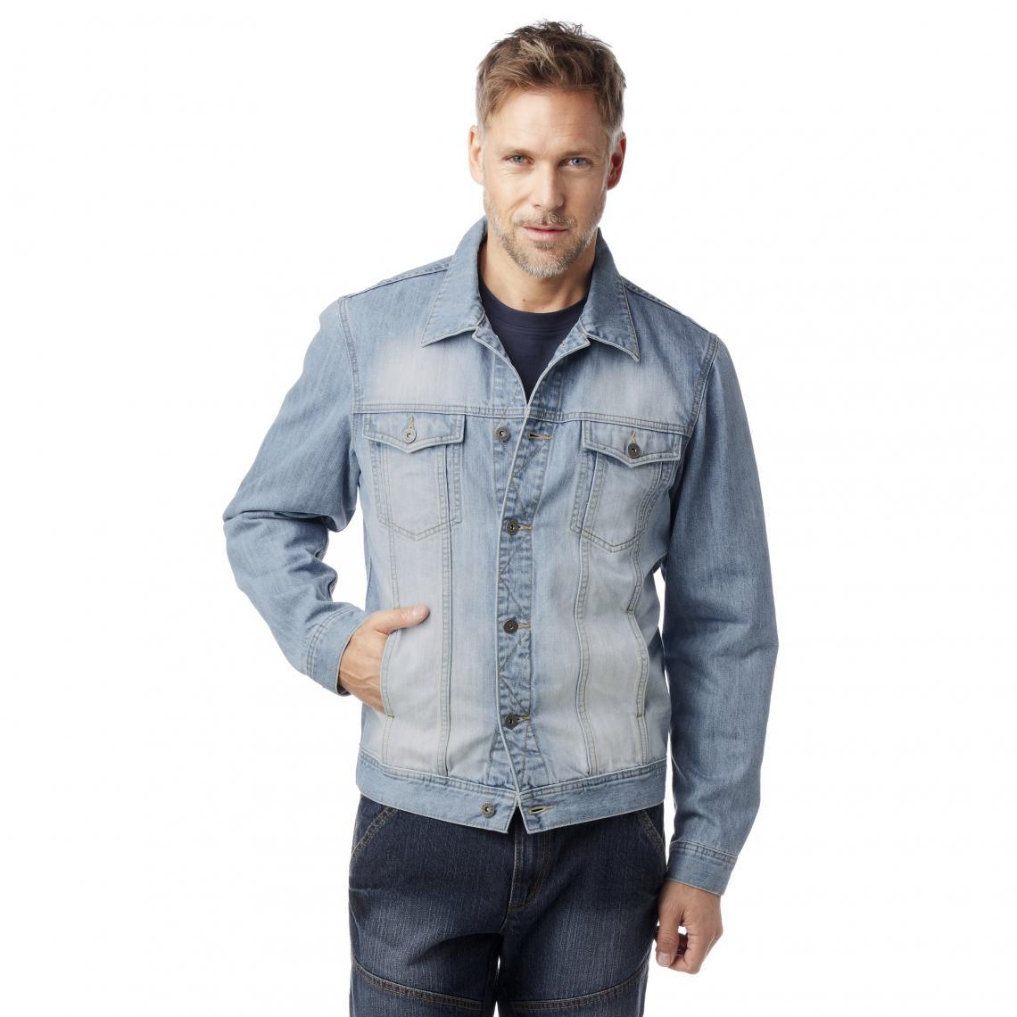 veste jean homme 3 suisse