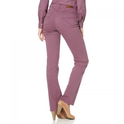 Arizona - Jean droit stretch femme ARIZONA - Violet - Vêtements femme