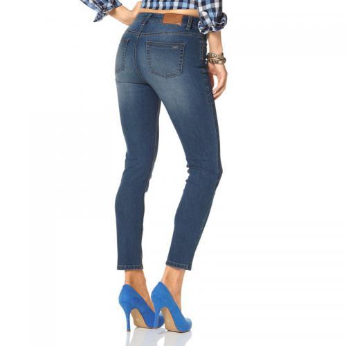 dace1c44d960 Arizona - Jean slim 5 poches femme Arizona - Bleu - Jeans slim femme